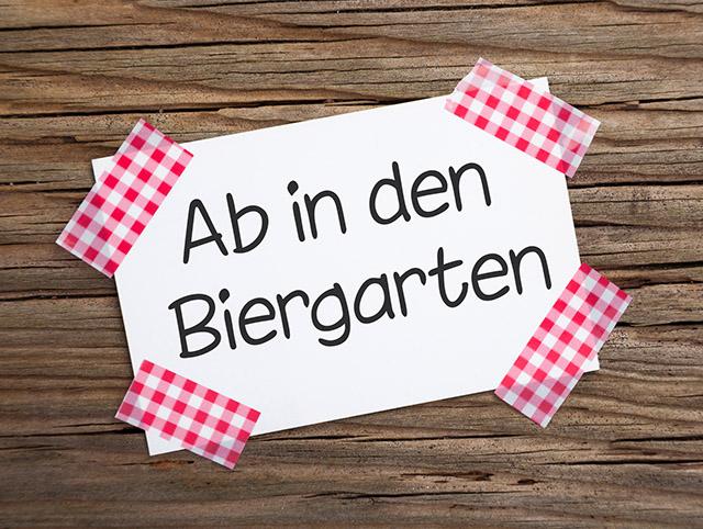 my city baby münchen - Biergarten