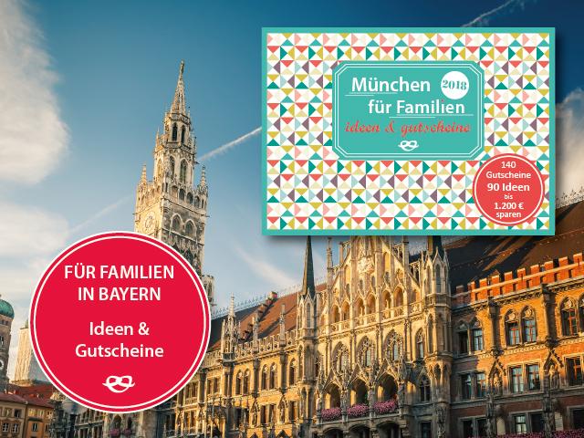 Gutscheinbuch München 2018