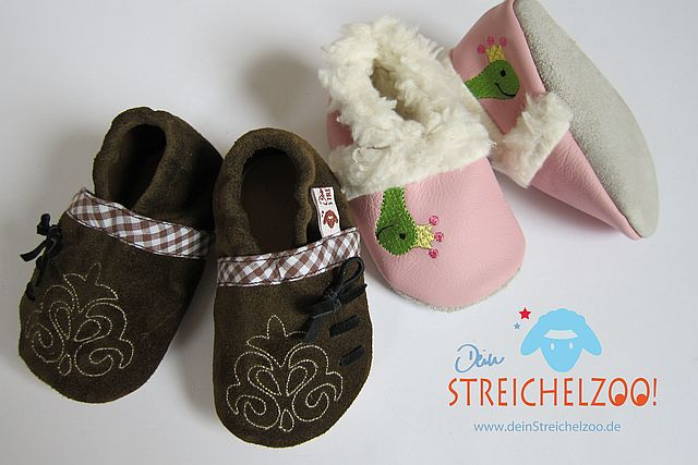 Krabbelschuhe Baby _ dein Streichelzoo (2)