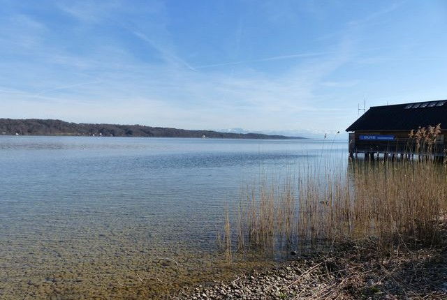Familienausflug Starnberger See mit Laufrad