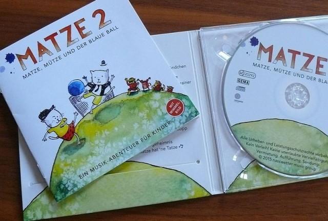 Kinderjazz CD Jazz für Kinder Matze