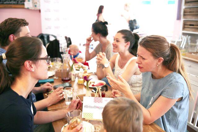 Britax Blogger Cafe heiße Diskussionen