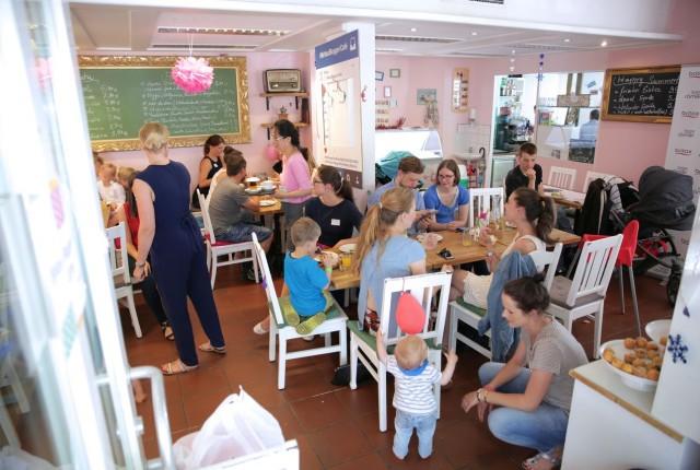 Britax Kinderwagen und Bloggercafe