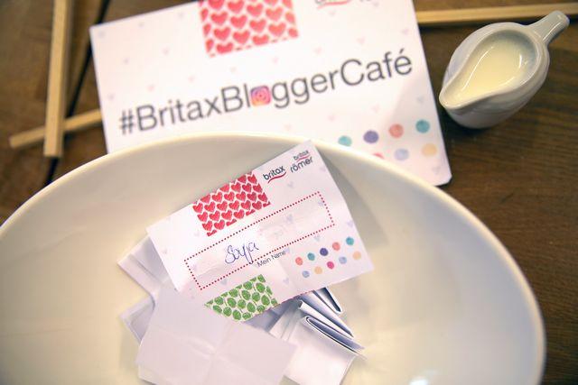 Britax Blogger Cafe