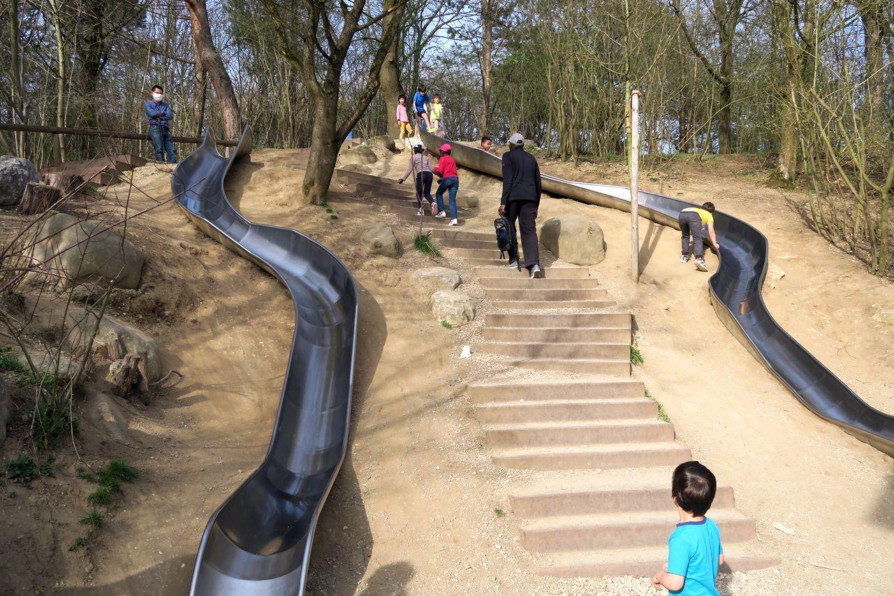 Ostpark mit Kind - Ostpark Riesenrutschen