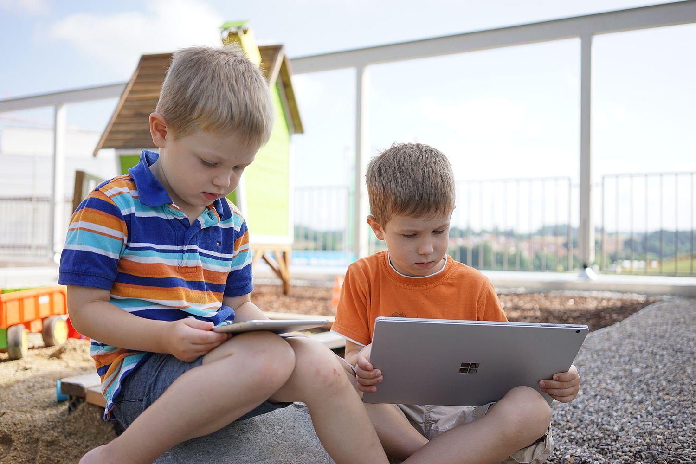 Digitale Medien im Kindergarten