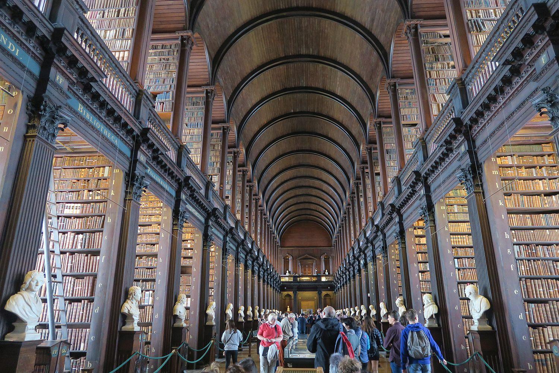 Dublinreise mit Kind Trinity college