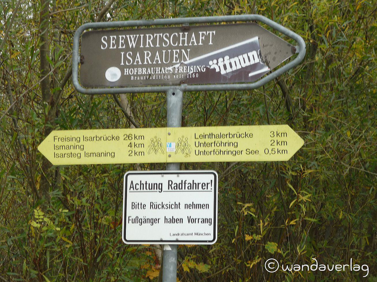 Famileinausflug - Der Rundweg vom Poschinger Weiher durch die Isar-Auen