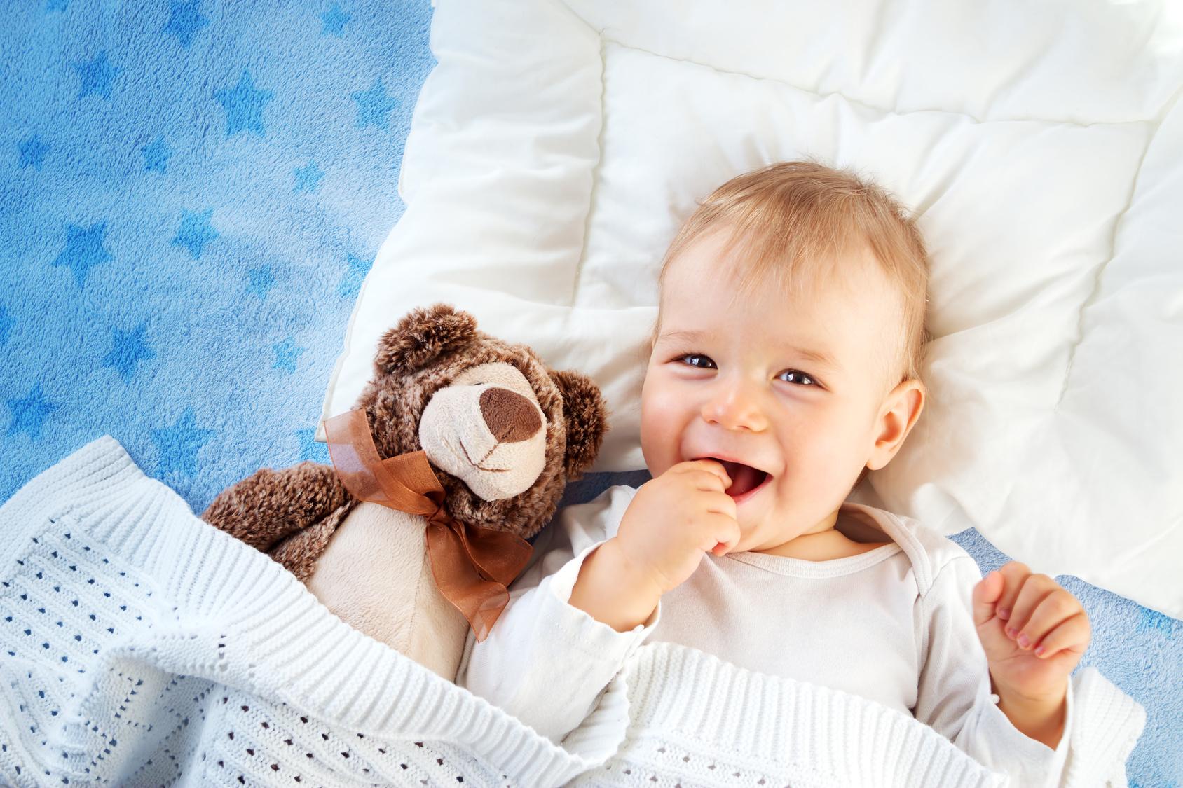 Babyhaut pflegen