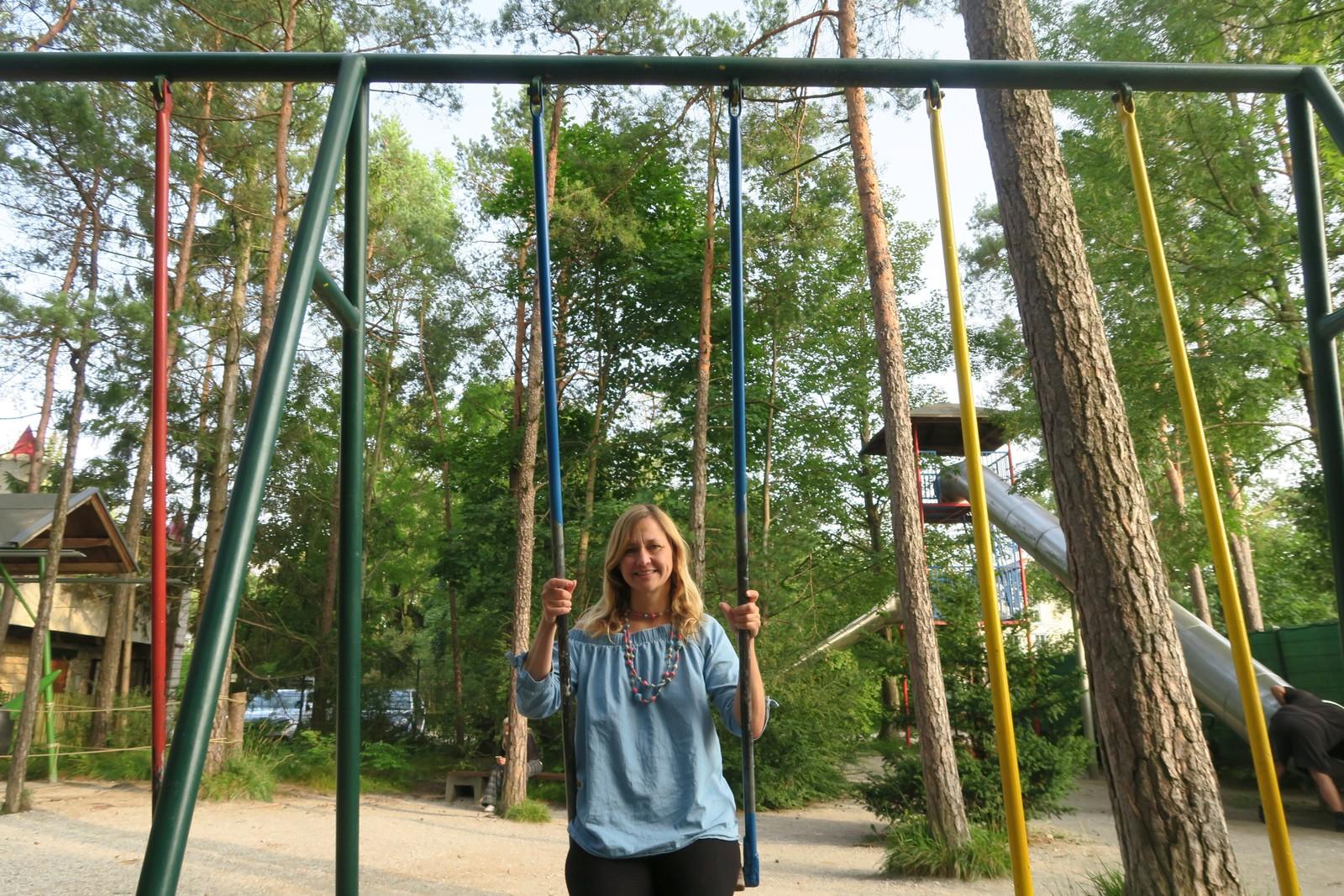 Freizeitpark für kleine Kinder