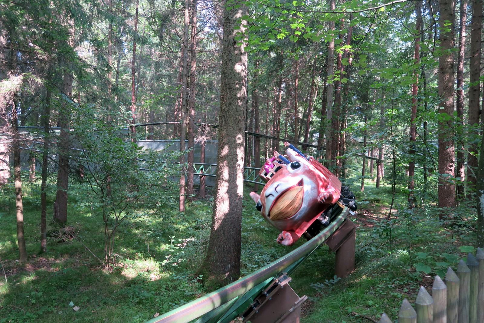 Freizeitpark Bayern - Märchenwald Wolfratshausen Achterbahn