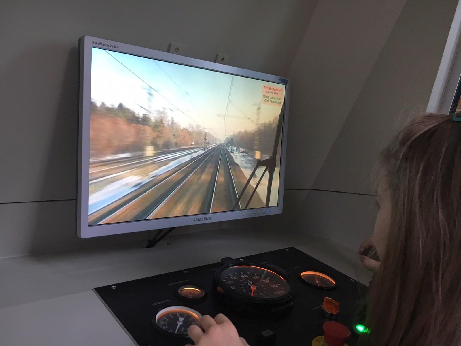 Lokwelt Museum mit Zügen