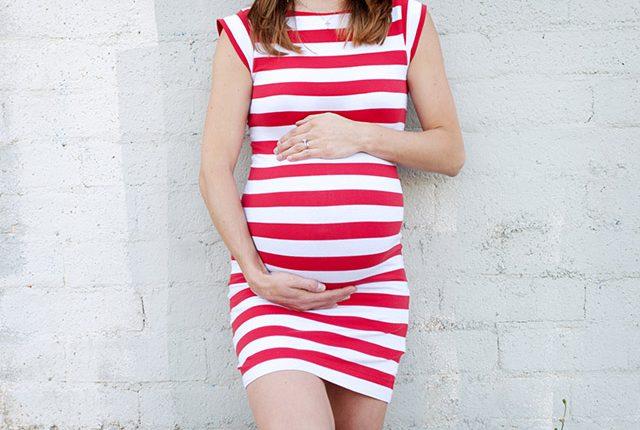 schwanger in München mit Babybauch