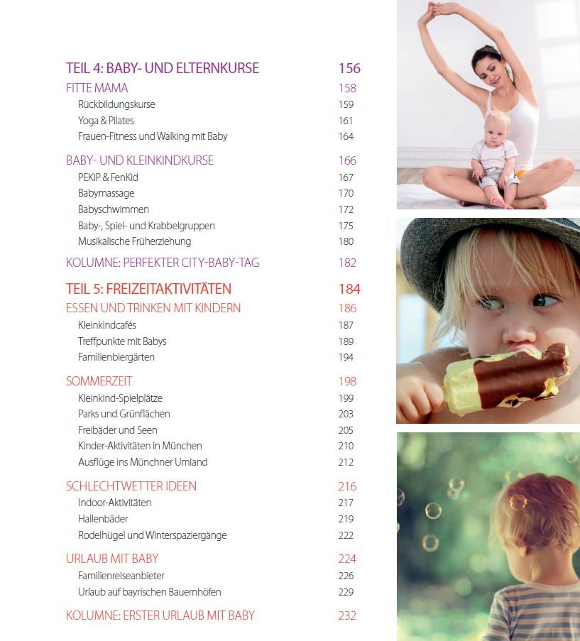 Inhaltsverzeichnis S. 3 - my city baby münchen