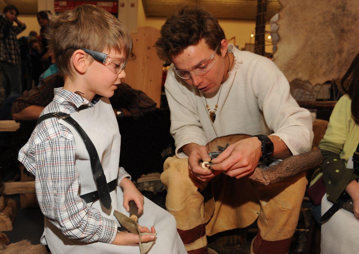 Kinder Mineralienmesse München