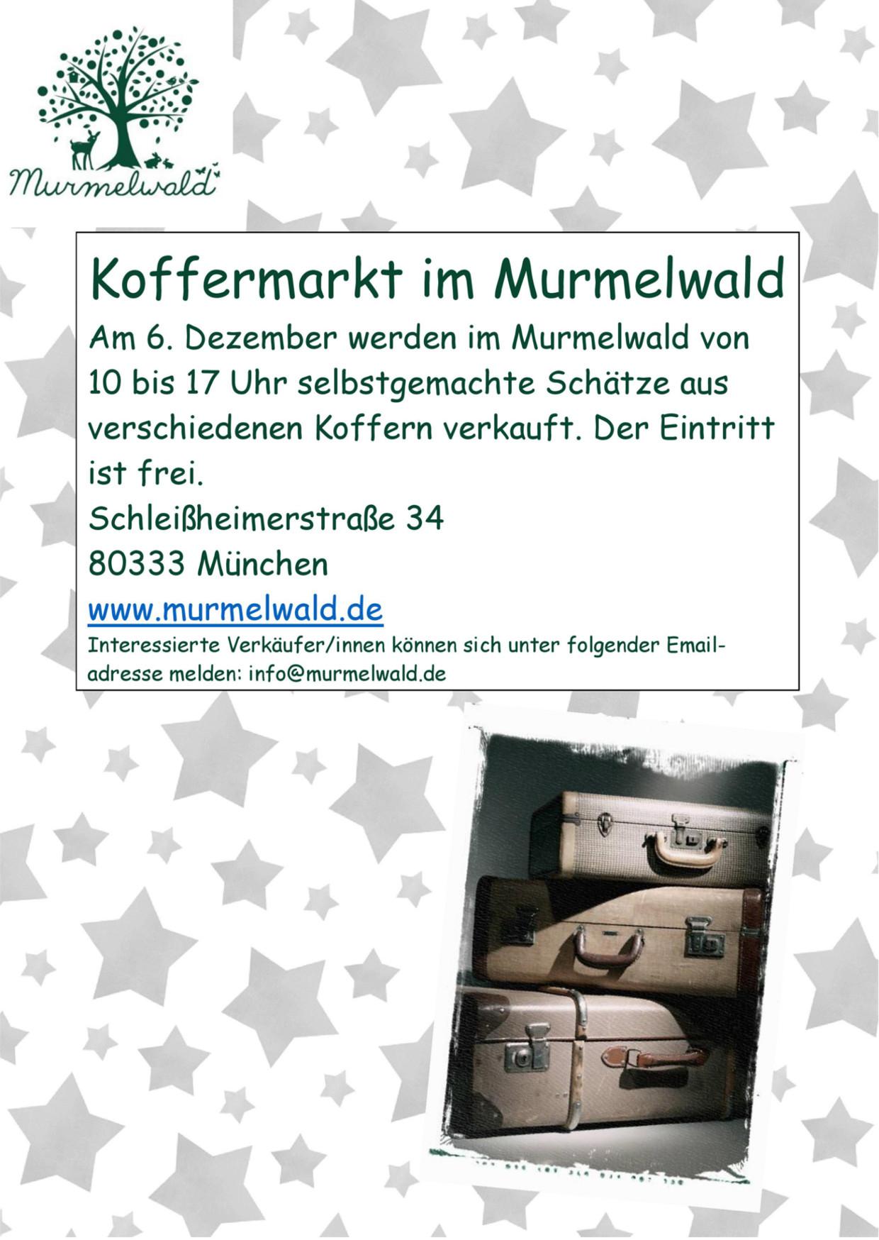 Murmelwald Koffermarkt