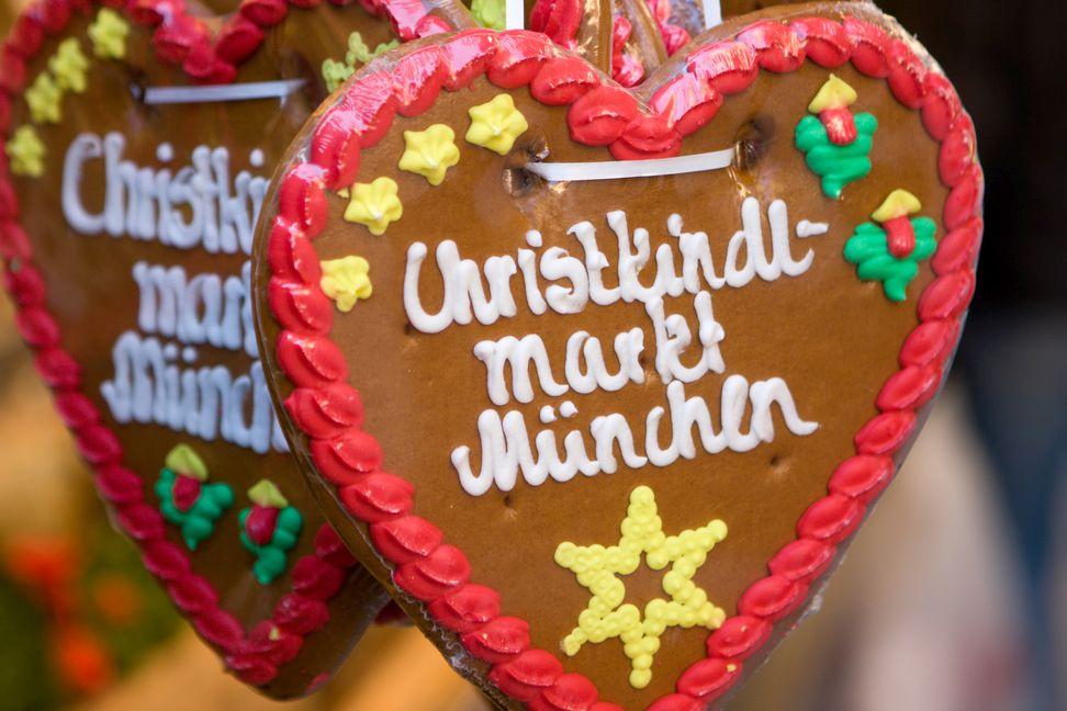 München Weihnachtsmarkt.Münchner Christkindlmärkte My City Baby München
