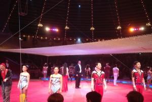 Circus Krone _ Endaufstellung