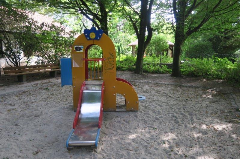 Rosengarten München mit Kindern (1)