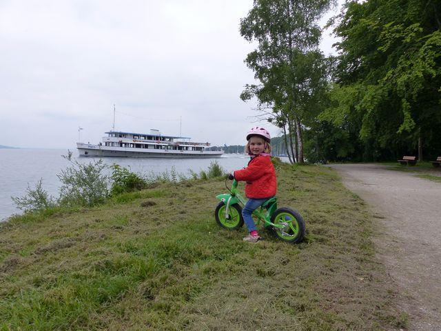 Familienausflug Starnberger See mit Kind