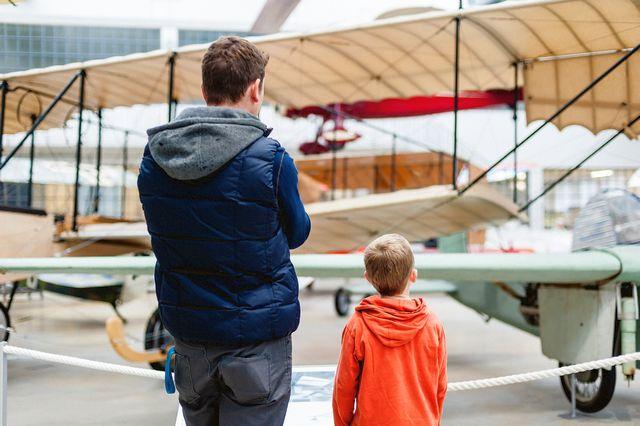 Flugwerft Schleißheim - Familienausflug München