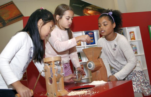 Kindermuseum München Iss was Ausstellung