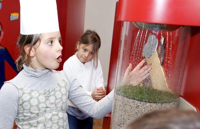 Kindermuseum München Ausstellung Iss was
