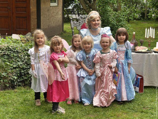 Kindergeburtstag Prinzessin prinzessinengeburstag