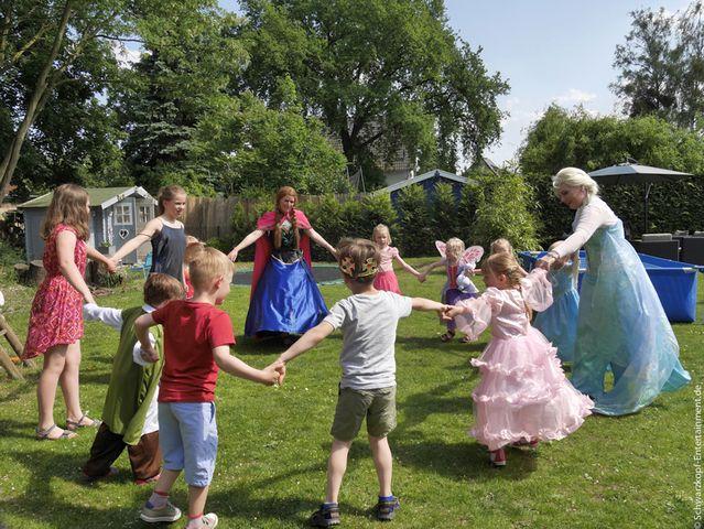 Kindergeburtstag Prinzessin München prinzessinnengeburstag