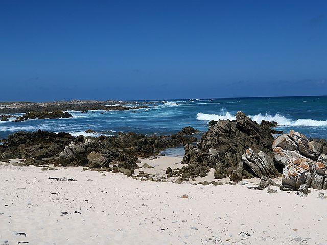 Südafrika mit Kind - Arniston Strand