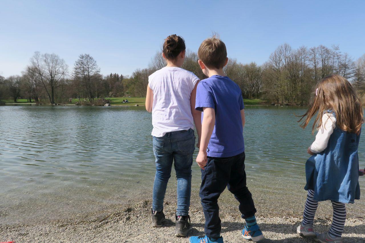 Ostpark mit Kind - Ostpark See