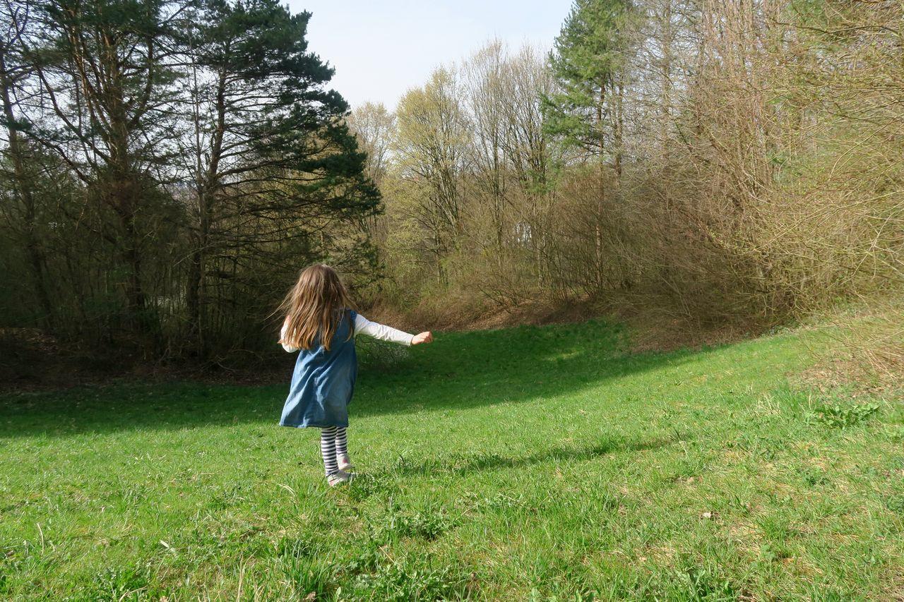 Ostpark mit Kind - Ostpark München