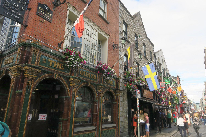Dublin mit Kind
