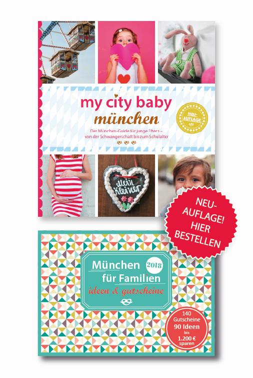 München für Babys - Familien Gutscheinbuch