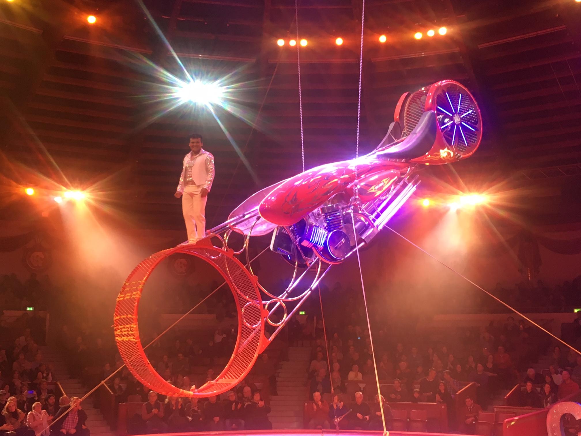 Circus Krone akrobatik
