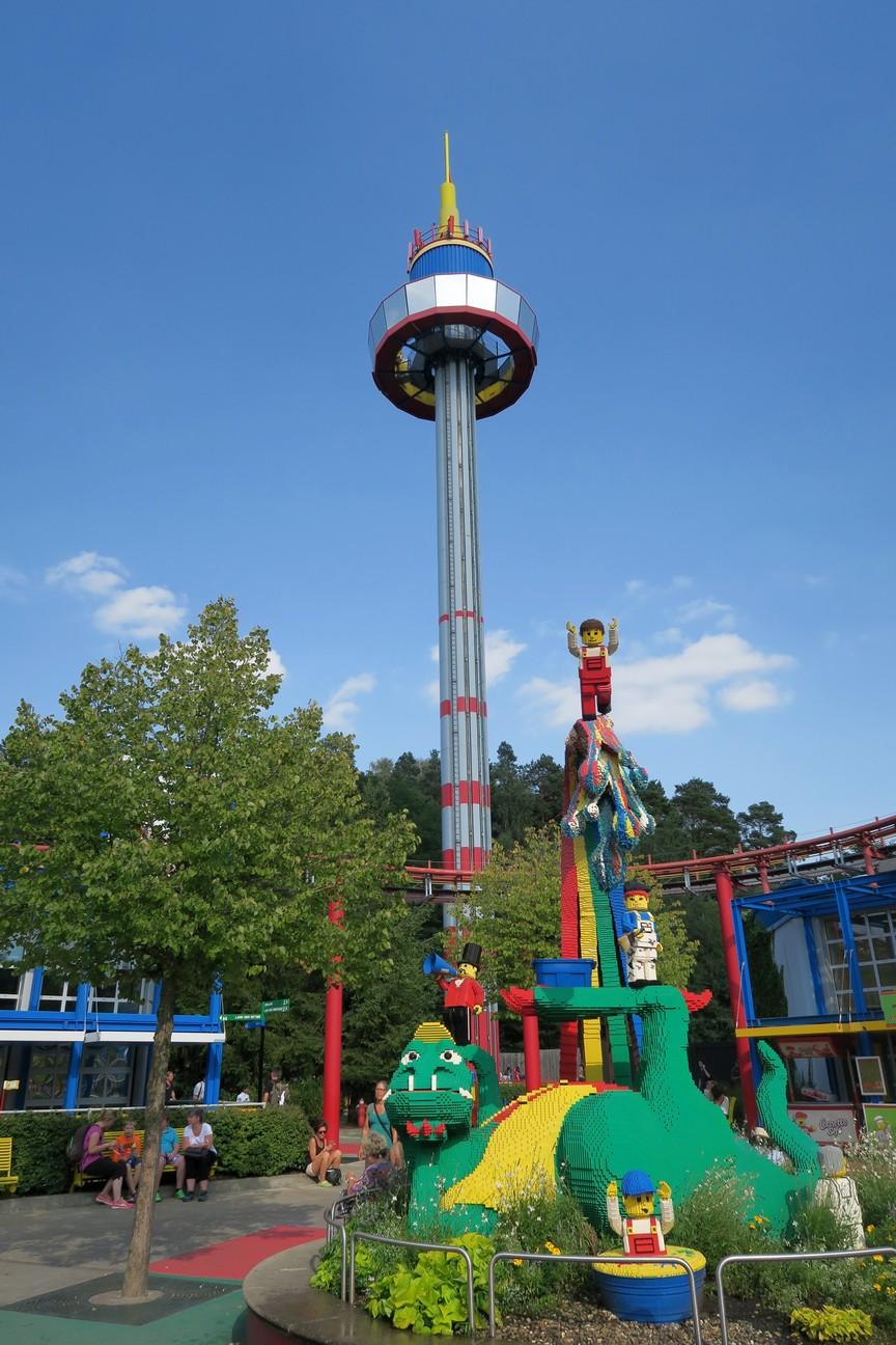 Lego Land Freizeitpark in Bayern