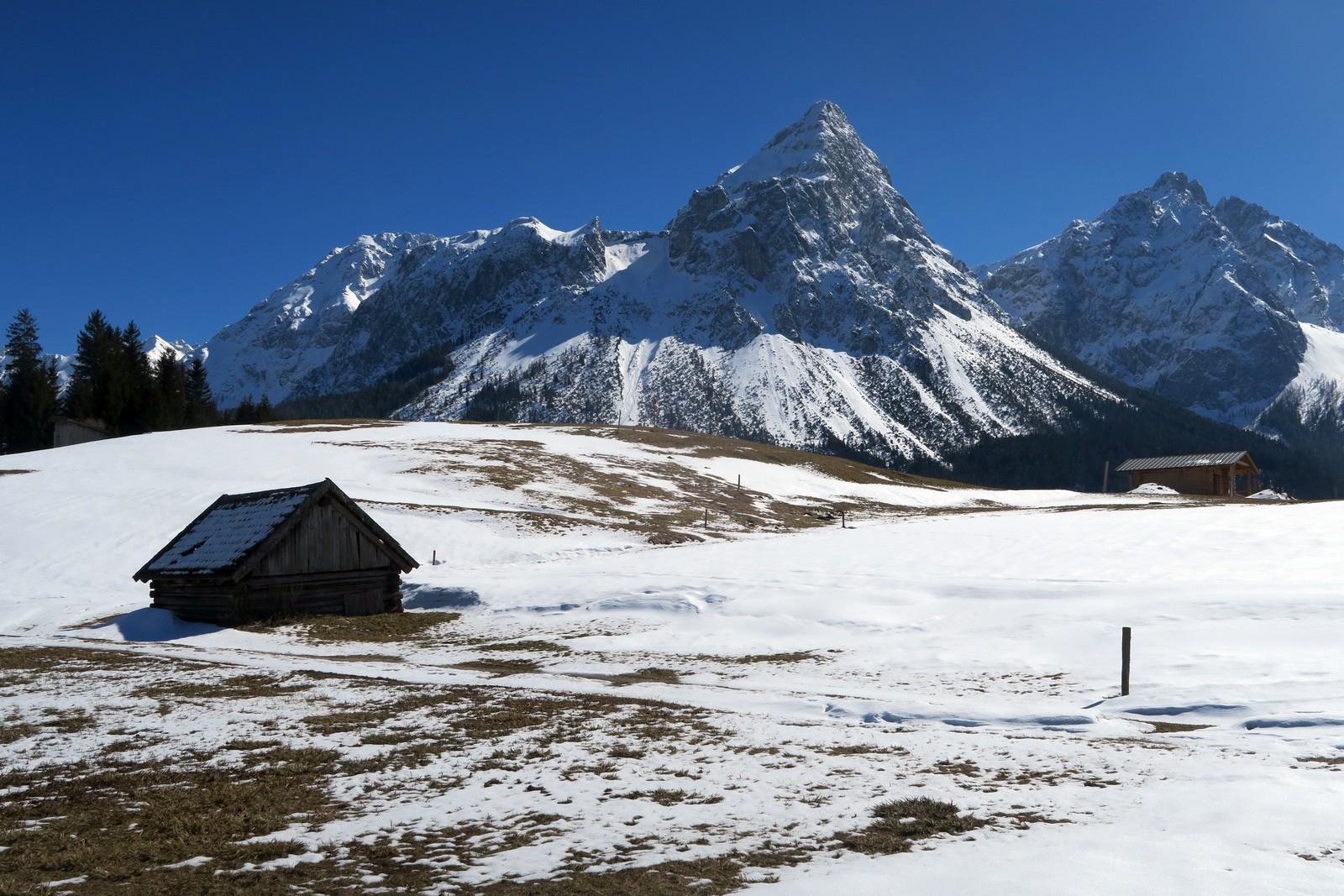 Skifahren Kinder Zugspitze Lermoos