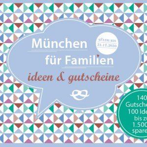 München Familiengutscheinbuch Cover
