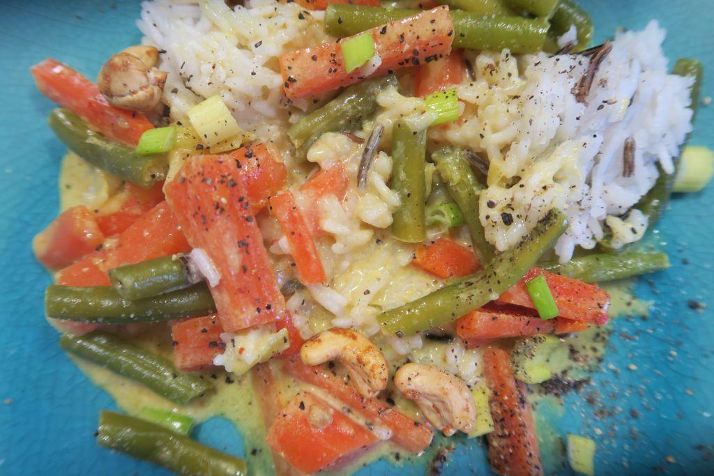 leckerer Gemüsereis