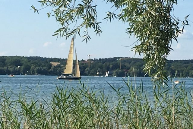 Segelboot am Ammersee