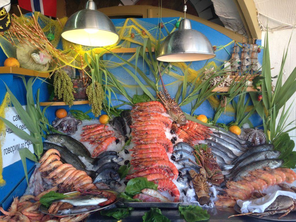 Leckeres Essen am Preveli Beach