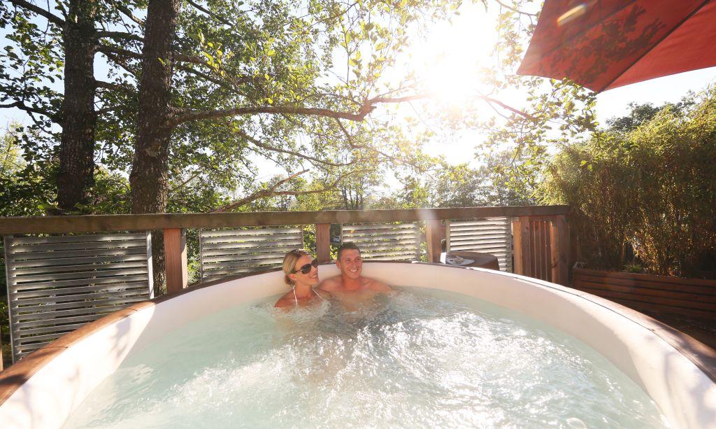 Entspannen im Whirlpool